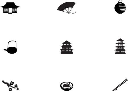 japanese ethnicity: Japan icons