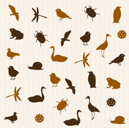 Animal seamless pattern 2 Vector