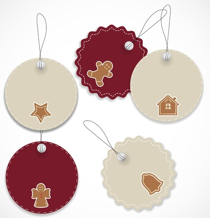 Christmas tags Stock Vector - 16504965