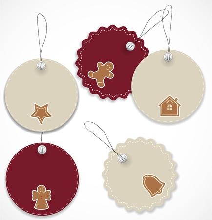 Christmas tags Stock Vector - 16504965