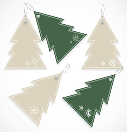 Christmas tags Stock Vector - 16504980