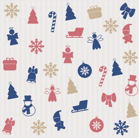 Christmas seamless pattern Stock Vector - 16504972
