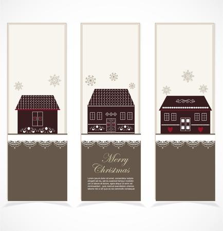 Merry Christmas banner Stock Vector - 16600534