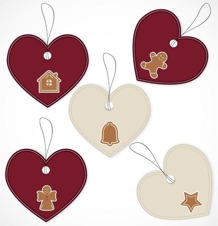 Christmas tags Stock Vector - 16660193