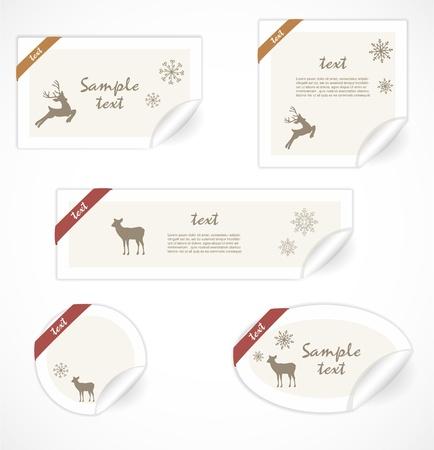 Christmas tags Stock Vector - 16761450
