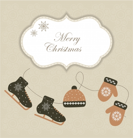 Christmas card Stock Vector - 16819059