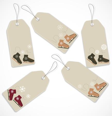 Christmas tags Stock Vector - 16819062