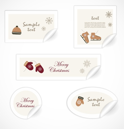 Christmas tags Stock Vector - 16819066