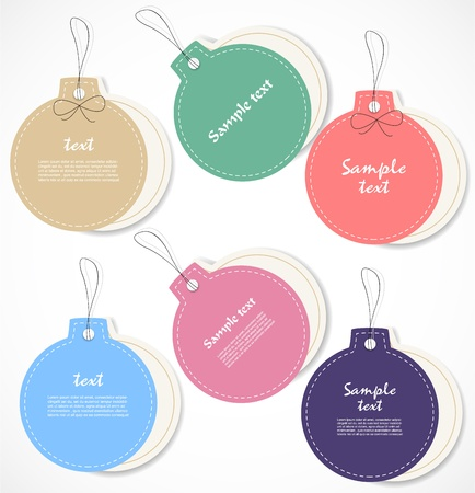 Discount tags Stock Vector - 16927949