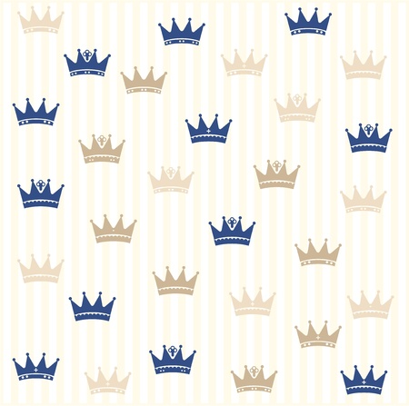 aristocracy: Royal seamless pattern
