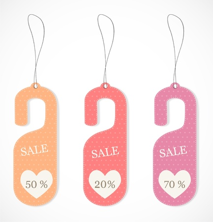 Discount tags Stock Vector - 17019942