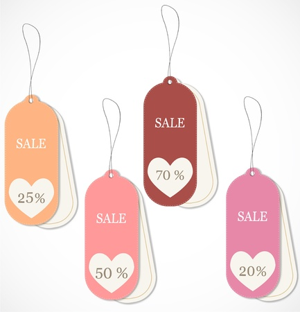 Discount tags Stock Vector - 17019941