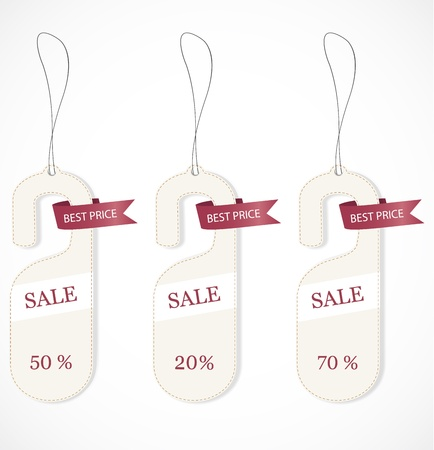 Discount tags Stock Vector - 17043946