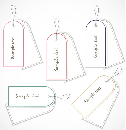 Discount tags Stock Vector - 17068866