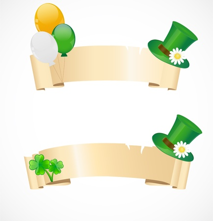 St  patricks day frames Stock Vector - 17170647