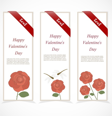 Floral banners Stock Vector - 17170659