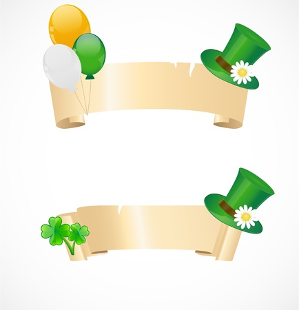 St  patricks day frames Stock Vector - 17170646