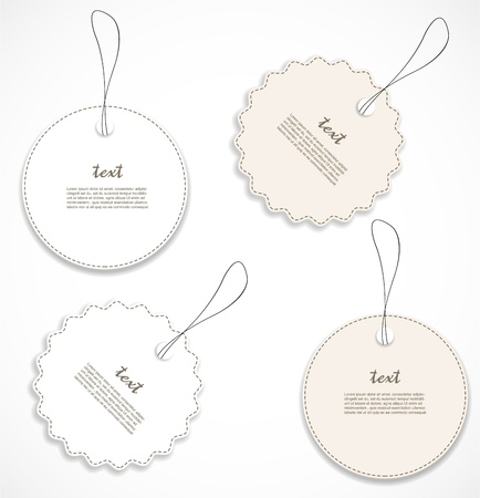 Discount tags Stock Vector - 17208438
