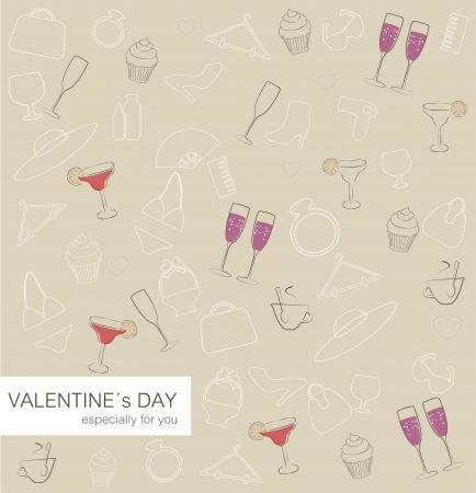 women s day: Valentine s Day card