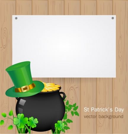 St  Patrick day background Stock Vector - 17446629
