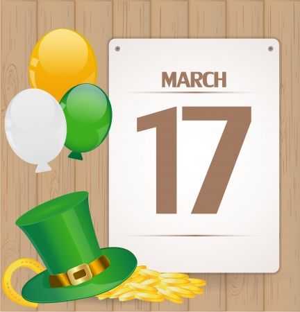 St  Patrick day background Stock Vector - 17446635