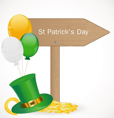St  Patrick day background Stock Vector - 17446620