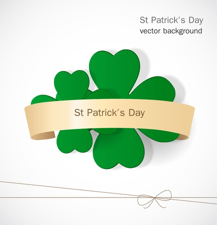 St  Patrick day card Stock Vector - 17499180
