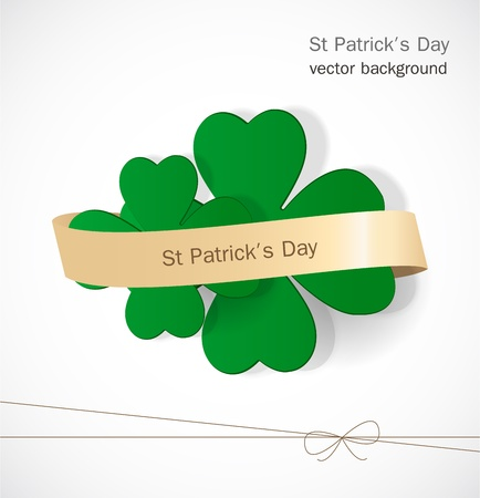 St  Patrick day card Stock Vector - 17499186