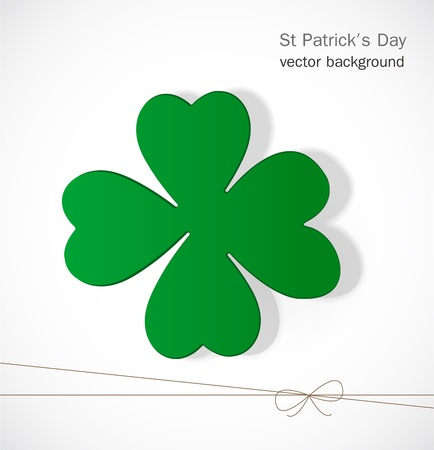 St  Patrick day card Stock Vector - 17499185