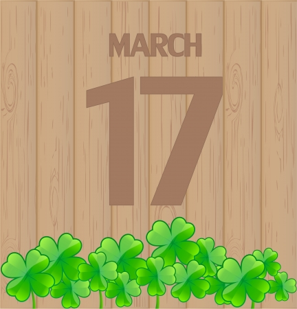 St  Patrick day background Stock Vector - 17499197
