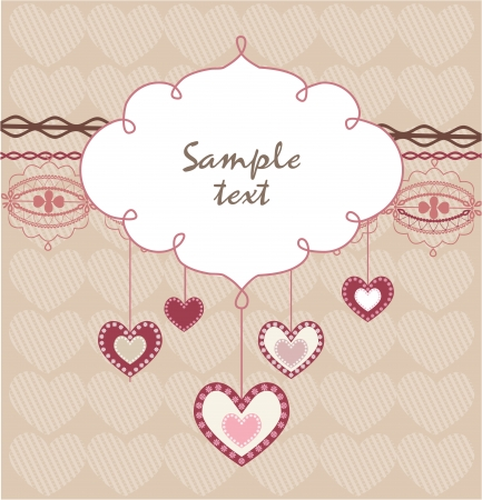 greeting card invitation wallpaper: Valentine s Day card