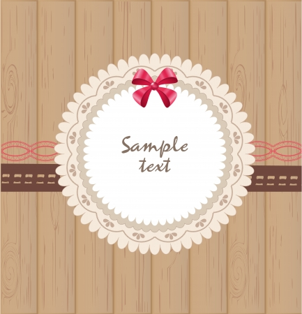 Greeting card Stock Vector - 17499211