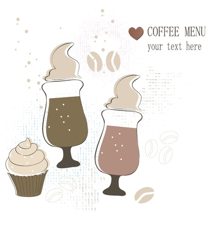 Coffee menu Stock Vector - 17598980