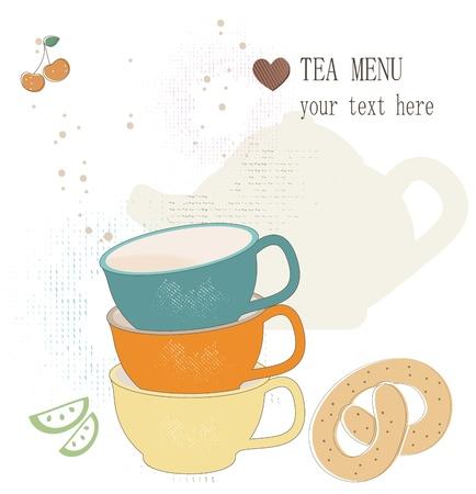 bakery price: Tea menu