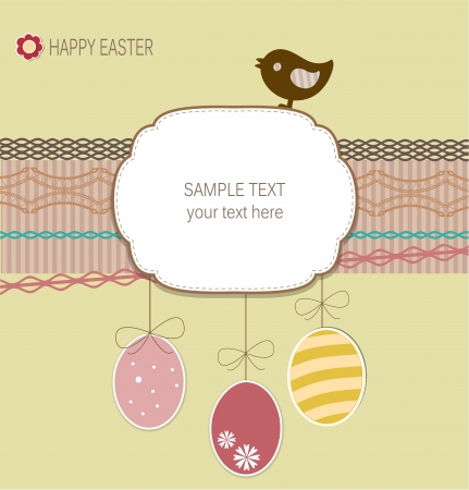 Easter card Stock Vector - 17695175