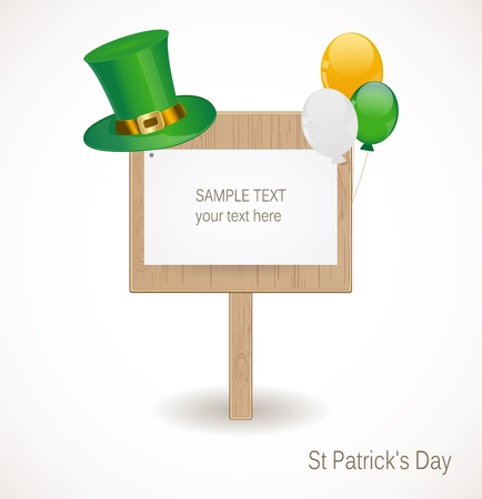 St  Patrick day background Stock Vector - 17695932