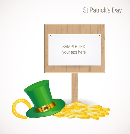 St. Patrick day background Stock Vector - 17695933