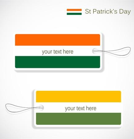 st  patrick day: St. Patrick day tags Illustration