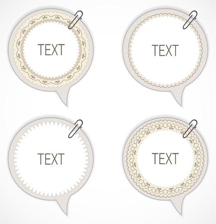 speak bubble: Speech bubbles Illustration