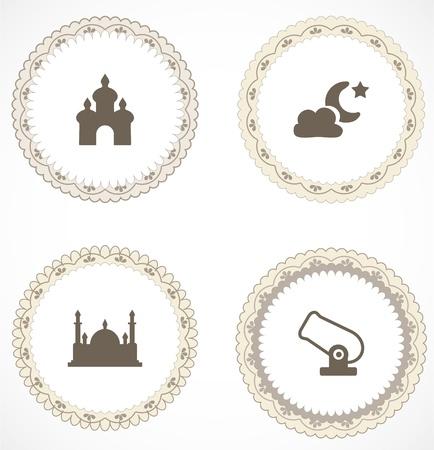 Les labels de cru avec des icônes