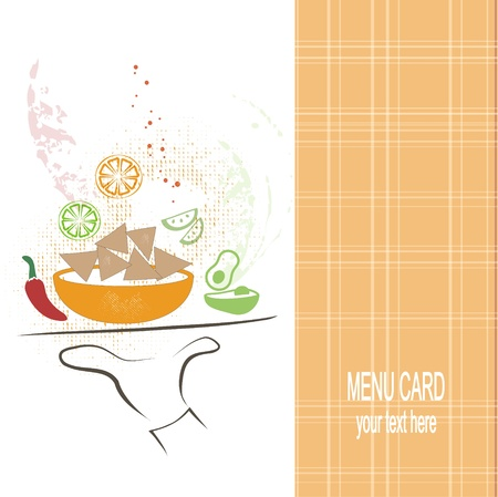 nachos: Restaurant menu