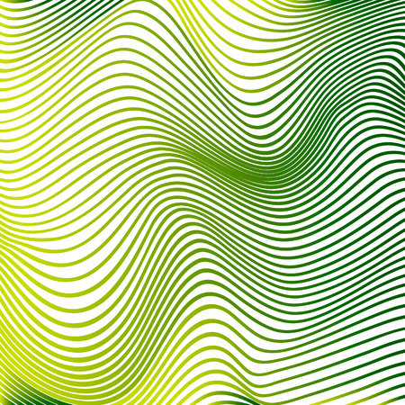 Abstract curve lines background yellow modern curves template