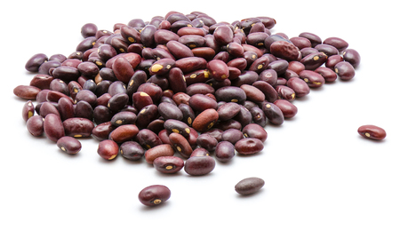 Kidney beans isolated on white background  Stock Photo