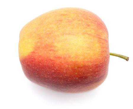アップル (Evelina 品種) トップに戻るビューで白背景の一つに分離