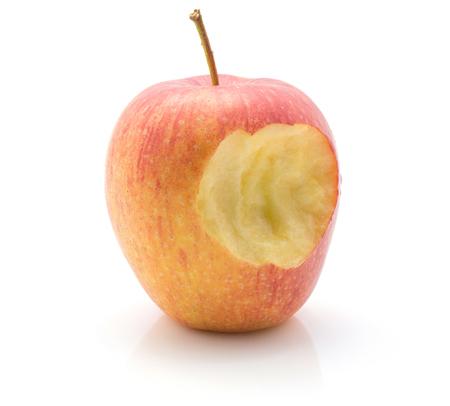 かまれたアップル (Evelina 品種) 白地赤黄色の分離