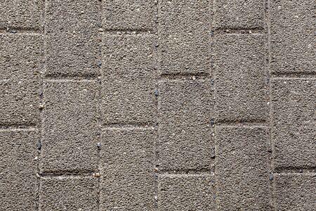 Grey street cobblestone road texture 写真素材