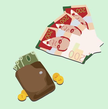 acquire: money