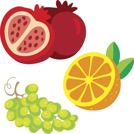 red grape: fruit