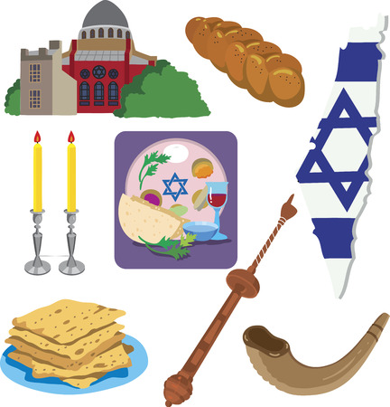 religion jewish Illustration