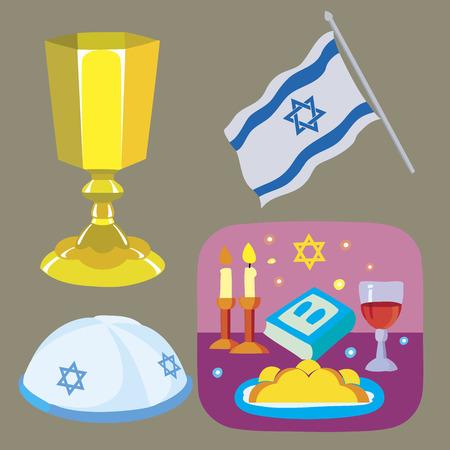 jewish: the Jewish Sabbath Illustration